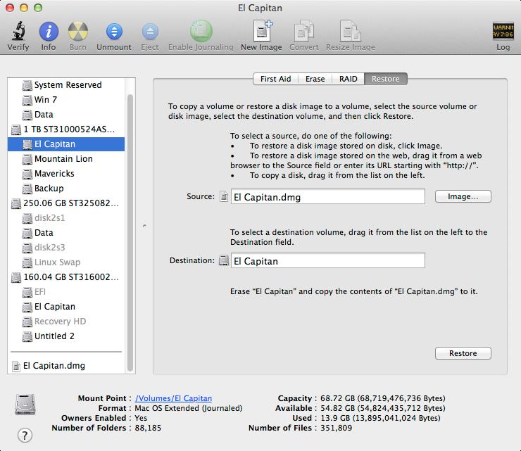 Install OSX El Capitan on a PC (MBR)   Bill Farmer
